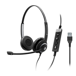 Sennheiser SC 260 USB MS II Headset, binaural, USB for MS
