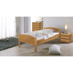 Seniorenbett - 100x200 cm - Buche natur - Bett für Senioren San Martino
