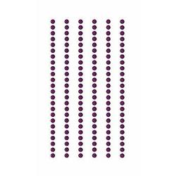 Sticker Strass Violett