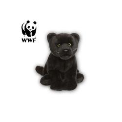 WWF Plüschfigur Plüschtier Schwarzer Panther (30cm)