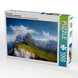 Traumhafte Landschaften Lege-Größe 64 x 48 cm Foto-Puzzle Bild von uwe vahle Puzzle