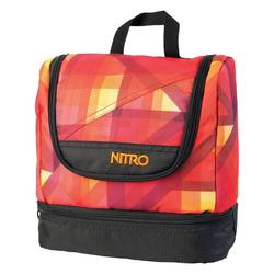 Nitro Travel Kit Geo Fire Waschbeutel Reisewaschbeutel reise, Taschen Größe: One Size
