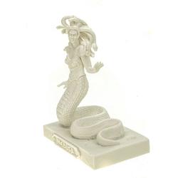 Kremers Schatzkiste Dekofigur Alabaster Figur Medusa 12 cm