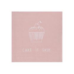 """Räder Design Papierserviette Serviette """"Cake it easy"""""""