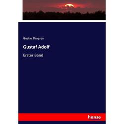Gustaf Adolf als Buch von Gustav Droysen
