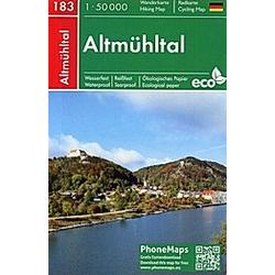 Altmühltal  Wander- Radkarte 1 : 50 000 - Buch