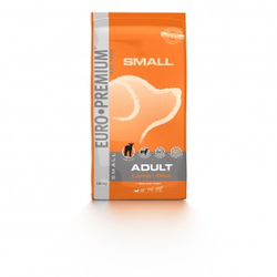 Euro Premium Small Adult Lamm & Reis Hundefutter 12 kg