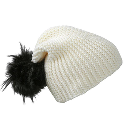 Wintersport Beanie | Myrtle Beach white/black