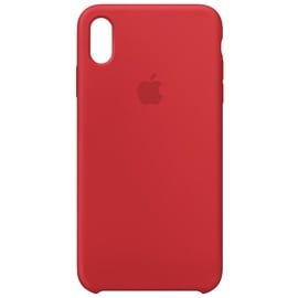 Apple iPhone XS Max Silikon Case rot