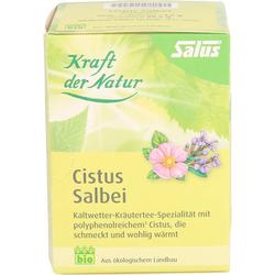CISTUS SALBEI Kräutertee Kraft d.Natur Salus Fbtl. 15 St.