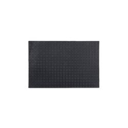 Fußmatte Gummi Fußmatte, relaxdays, Höhe 0.5 mm