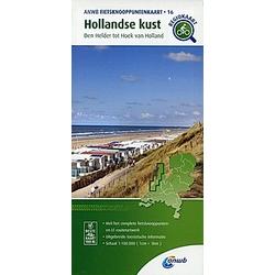 16  Hollandse Kust (Den Helder tot Hoek van Holland); . - Buch