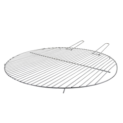 esschert design Feuerschale Esschert Design Grillrost für Feuerschale Ø 60 cm Metall rund Grill Gitter BBQ, (Grillrost)