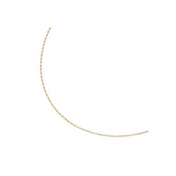 Luigi Merano Goldkette massiv, gedrehte Optik, Gold 375