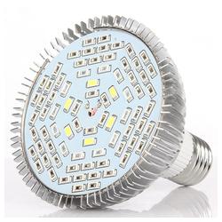 TOPMELON Pflanzenlampe LED Vollspektrum Pflanzenlampe Ø 9.4 cm x 9.8 cm