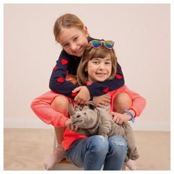 Teddy Hermann® Kuscheltier Nashorn liegend 45 cm