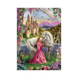 Educa Puzzle Puzzle Einhorn Fee, 500 Teile, Puzzleteile