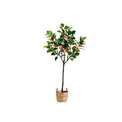 Kunstpflanze Apfelbaum Rot/Grün
