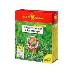 WOLF GARTEN SQ 200 Unkrautvernichter und Rasendünger Grün/Rot/Gelb