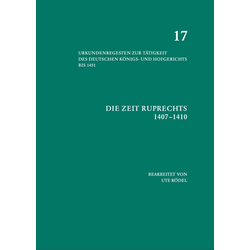 Die Zeit Ruprechts (1407-1410) als Buch von Ute Rödel