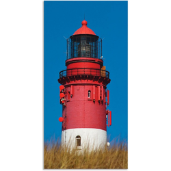 Artland Wandbild Amrumer Leuchtturm, Gebäude (1 Stück) bunt 20 cm x 40 cm