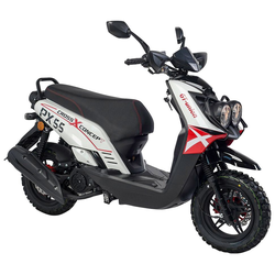 GT UNION Motorroller PX 55 Cross-Concept, 125 ccm, 85 km/h, Euro 5, EURO 5
