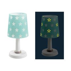 Dalber Nachttischlampe Tischlampe STARS, Glow in the dark, grau blau