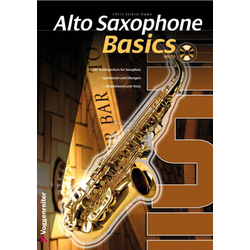 Alto Saxophone Basics + CD