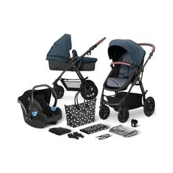 Kinderkraft Kombi-Kinderwagen Kinderwagen Xmoov, multifunktional, 3in1, denim blau