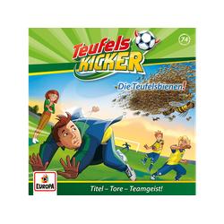 Teufelskicker - 074 / Die Teufels-Bienen! (CD)