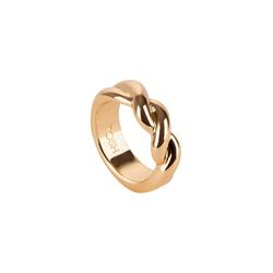 TOSH M Ring in gedrehter Optik