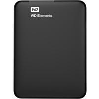 Western Digital Elements Portable 1 TB USB 3.0 WDBUZG0010BBK-WESN
