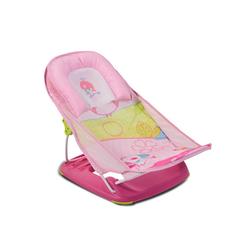 Moni Babywanne Baby-Badewannen-Liege Rory, Badewannensitz weiches Kissen 2 Sitzpositionen rosa