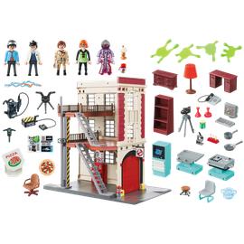 Playmobil Ghostbusters Feuerwache 9219