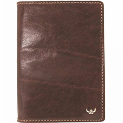 Golden Head Colorado RFID Protect Etui na paszport skórzana 10 cm tabacco