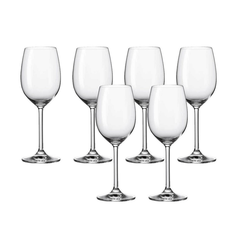 LEONARDO Weißweinglas Weißweinglas 6er-Set Daily