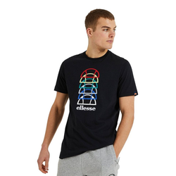 Ellesse T-Shirt Ellesse T-Shirt Herren MAGARIO TEE Black Schwarz M