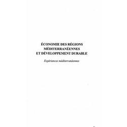 Economie des regions mediteraneennes