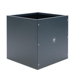 "Herstera Pflanzgefäß ""Cube"", anthrazit, 50 x 50 x 50 cm,anthrazit,50 x 50 x 50 cm"
