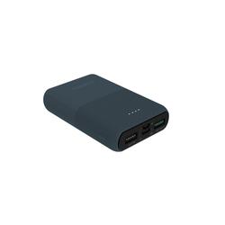 Terratec P100 PD Powerbank, 10000 mAh, Quick Charge 3.0 (QC 3.0), inkl. USB Type-C Ladekabel, PD Funktion, dunkelblau, 282262 Powerbank