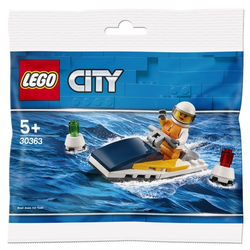 Polybag LEGO City - 30363 -Rennboot