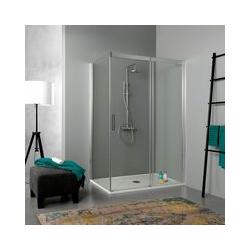 Eckdusche 80 × 130 Mit Schiebetür