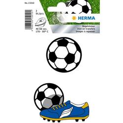 Bügelbilder Fußball 3 Blatt