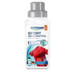 HEITMANN Sport-Waschmittel, Flüssigwaschmittel neutralisiert Gerüche und sorgt für extra lange Frische, 250 ml - Flasche