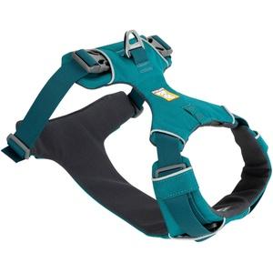 Ruffwear Hundegeschirr Front Range™ Harness petrol, Breite: ca. 2,5 cm, Brustumfang: ca. 81 - 107 cm