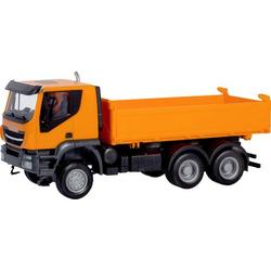 Herpa 309998 H0 Iveco Trakker 6x6 Baukipper-LKW, orange