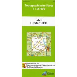 Breitenfelde 1 : 25 000