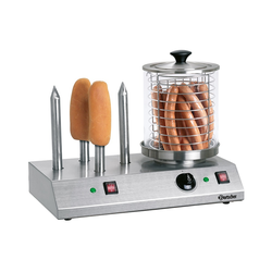 Bartscher Hotdog-/Würstchen Gerät mit 4 Spezial-Toaststangen