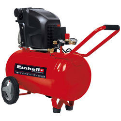 EINHELL Kompressor TE-AC 270/50/10, 1.800 W rot