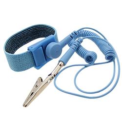 Antistatisches Armband Gewelltes Kabel 1 Meter